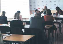 Une petite trentaine de chefs d'entreprise sont venus se renseigner sur le Crédit d'impôt pour la compétitivité et l'emploi le 22 mai au Medef de Meurthe-et-Moselle.
