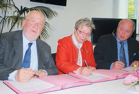 André Rossinot et Christian Namy ont signé en mai la convention lançant les événements Nancy Renaissance 2013 en Meuse.