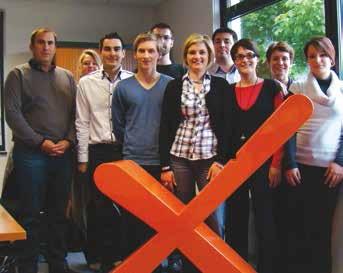 Hexo, le Chiffre autrement : une équipe jeune, la douzaine de collaborateurs à moins de trente ans, et une vision du métier basé sur la proximité et l'accompagnement des entreprises.