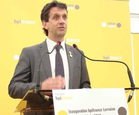 Didier Pichot, directeur de la Banque publique d'investissement (BPI) Lorraine, voit dans la structure «un outil de proximité simple et efficace de soutien aux entreprises».