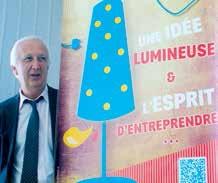 «Le Concours Entreprendre est le reflet de l'économie de demain», assure Jacky Chef, le directeur de Promotech.