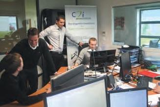 Les équipes de C2i Énergie sont aujourd'hui installées dans les locaux de leurs cousins de C2i Santé sur le site Saint- Jacques de Maxéville, croissance d'activité oblige.