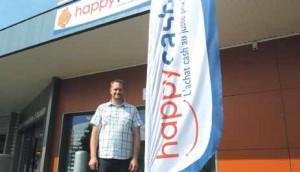 Mikaël Gaudel vient d'ouvrir le premier magasin du groupe Happy Cash à Lunéville.