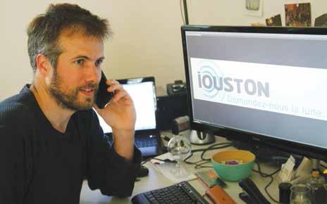 Julien Marchand a lancé en avril dernier Iouston informatique, une agence de communication et de création de sites internet, destinée aux associations, artisans et TPE.