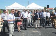 L'inauguration officielle de l'Éco-Parc Artisanal du Toulois s'est déroulée le 8 juillet en présence des élus de la Communauté de communes et des différents partenaires de l'opération.
