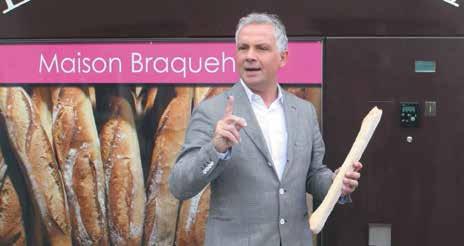 Jean-Pierre Ferrante, de la société Elodys, annonce l'implantation d'une quarantaine de «Compagnon du Boulanger» en Lorraine d'ici la fin de l'année.