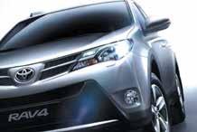 La quatrième génération de RAV4 reflète l'orientation plus familiale du marché des SUV compacts.