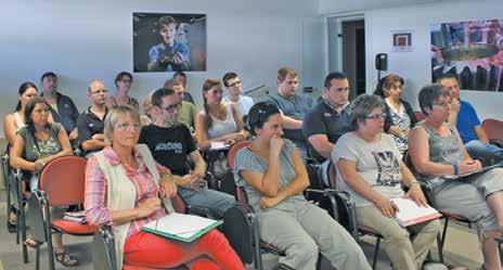 Près de soixante-dix demandeurs d'emploi ont participé aux deux réunions d'information leur présentant le projet d'Essilor.