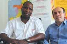 «Dans cinq ans, le marché congolais sera saturé. Il faut investir maintenant», assurent Jean-Marie Ibata et Stéphane Caron de l'ACLIED.