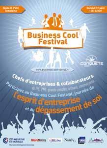 La CCI de Meurthe-et-Moselle vous donne rendez-vous le 31 août prochain, pour le premier Business Cool Festival, une manifestation alliant sport et business.