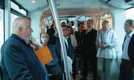 «Un résultat et des efforts conformes à nos attentes» a déclaré André Rossinot, le président du Grand Nancy, lors du lancement du nouveau réseau Stan.