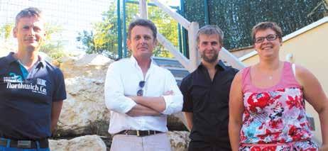«Nous faisons tout de A à Z. De l'initiation du projet jusqu'à sa commercialisation», assure Franck Eve (chemise blanche), le directeur général d'Urbavenir.