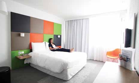 Nouveau décor et nouveau concept pour le Novotel d'Houdemont, qui devient Ibis Styles, un concept qui fait la part belle au design et aux nouvelles technologie.
