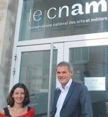 «Notre objectif est de construire le Cnam de demain», assure Guy Keckhut, le directeur adjoint du Cnam lorrain et Cécile Brice, responsable de communication.