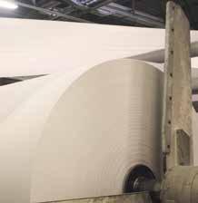 Avec 125 000 briques alimentaires, l'usine vosgienne produit une bobine de quatre kilomètres de papier.