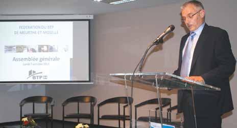 «Le BTP souffre d'anémie. L'activité, sans perspective de croissance générale, reste et restera à la peine», assure Daniel Cerutti, le nouveau président de la Fédération du BTP de Meurthe-et-Moselle.