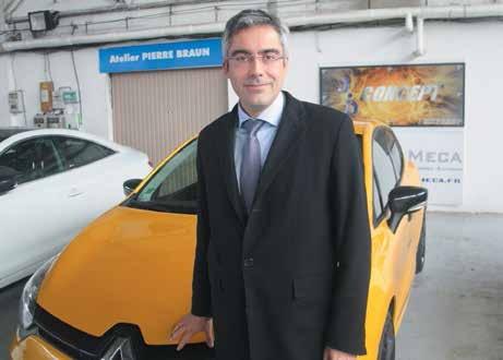 Vincent Gorce est le nouveau directeur régional Grand Est de Renault. Ce produit pur jus Renault entend faire jouer le «Made in Lorraine» au niveau de la marque.