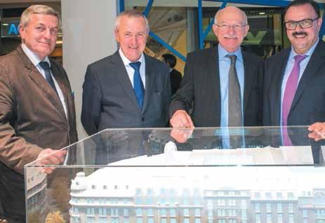 Trois ans de travaux seront nécessaires pour la rénovation complète du siège de la BPLC à Metz.