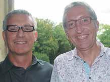 Pascal Cavalli, le président de l'association Starter et Sylvain Thiriet, adjoint au maire de Vandoeuvre, un entrepreneur et un politique unis pour le développement de la ZFU.