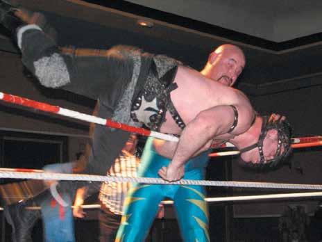 L'inimitable Flesh Gordon sera sur le ring du Pôle sportif de Baccarat, le 29 novembre.