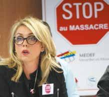 «Si l'on continue ainsi il n'y aura plus de PME en France», assure Christine Bertrand du Medef 54.