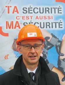 «La sécurité doit devenir une véritable culture au sein de l'entreprise. Les choses avancent. Sur dix chantiers livrés, neuf le sont sans accident aujourd'hui», assure José Liotet, le directeur général adjoint de Pertuy Construction.