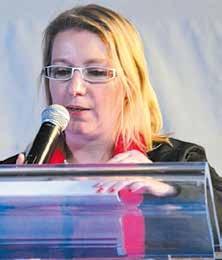 «Cette journée permet de réaffirmer nos valeurs qui font notre force», assure Nathalie Babouhot, la présidente du Conseil régional des notaires. le 12 novembre dernier au parc des expositions de Vandoeuvre à l'occasion de la Journée de l'Authenticité.