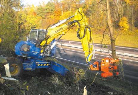 Le groupe Sepa, spécialisé dans l'entretien d'espaces verts et d'infrastructures routières, vient d'accueillir dans son parc des «pelles araignées». La première utilisation vient de se dérouler à hauteur de Toul sur une portion gérée par Autoroute Paris-Rhin-Rhône.