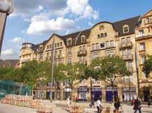 La façade de la BPLC en plein coeur de Metz.