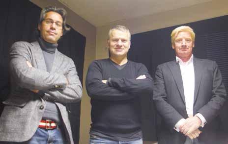 Denis Burlet, Olivier Lallement et Thierry Nodari, le trio de Lucyol Technology vient de recevoir le prix de l'innovation au dernier concours régional de la création d'entreprise.