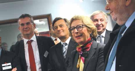 Le 5 décembre, Geneviève Fioraso, la ministre de la Recherche a pris connaissance des compétences régionales en matière d'innovation.