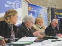 La charte d'engagement des différents partenaires du dispositif Praxibat vient d'être signée le 12 décembre au CFA mussipontain.