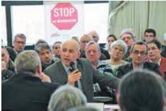 Les parlementaires étaient face aux entrepreneurs le 27 janvier à Maxéville.