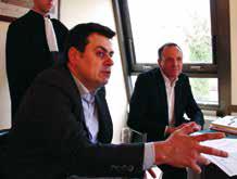 Maîtres Sylvain Callet et Frédéric Ferry.