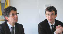 Didier Pichot, directeur de BPIFrance Lorraine et Thibaut Villemin, vice-président du Conseil régional délégué à l'économie.