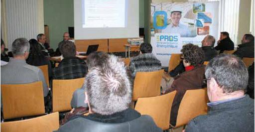 Une quarantaine d'entreprises ont répondu présent pour cette matinée d'information organisée à Verdun par la Fédération du BTP de la Meuse.