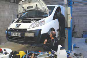Les professionnels, l'une des cibles du nouvel agent Peugeot de Dombasle-sur-Meurthe.