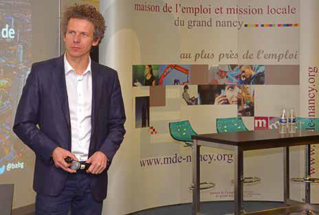 Le Digital Champion pour la France Gilles Babinet était à l'Epitech de Nancy le 6 mars avec son lot de propositions pour sortir l'économie nationale du marasme.