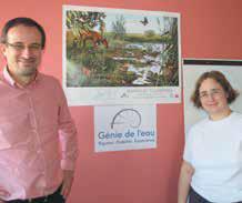 Antoine Seren Rosso et Anne Gobert, les nouveaux génies de l'eau pour les petites collectivités locales.