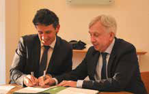 Convention de renforcement de partenariat signée entre BPI France Lorraine et le Conseil régional.