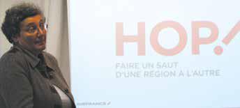 «L'aéroport de Metz-Nancy Lorraine constitue une base importante de notre réseau», assure Hélène Abraham, la directrice générale adjointe de la compagnie aérienne Hop.