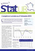 «Stat'UR Lorraine», le nouveau look de la publication trimestrielle de l'Urssaf, anciennement «Aperçu Lorraine».