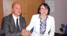 Faouzi Doghmi, le patron de MCM a passé la main à Virginie Willaime-Morel, du groupement d'employeurs GE Interpro à la présidence d'Energic.