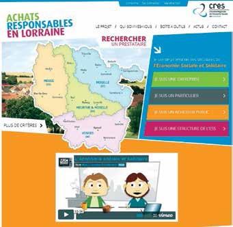 Le nouveau site «Achats responsables en Lorraine» et ses 120 fournisseurs appartenant à l'ESS s'adressent autant aux particuliers qu'aux entreprises.