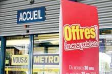Le magasin Metro de Nancy veut mettre en place un service informel et gratuit de recueil de candidatures dans l'hôtellerie- restauration pour ses clients.
