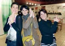 Mélanie Chevalier, gérante de lacourdesparents. fr, Aude Bujaud, fondatrice de la Ruche qui dit oui à Villers-lès-Nancy, et Murielle Bazin, fondatrice de ladieshour.fr. Mais où est Charlie ?