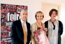 Jean Loctin, Élisabeth Laithier et Catherine Nardi.