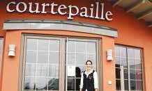 Sabrina Tamani est à la tête du nouveau Courtepaille, ouvert fin mai, sur la zone de la Porte Verte à Essey-lès-Nancy.