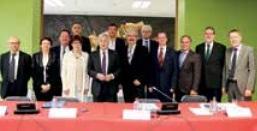 Une convention vient d'être signée entre la Sarre et la Lorraine pour la mise en place d'un apprentissage transfrontalier Le cru 2014 de «Stars et Métiers», concours organisé par la BPLC.
