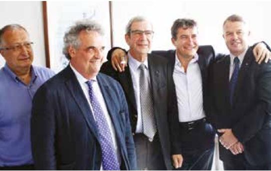 Les présidents des Chambres de commerce de Lorraine tous unis pour bâtir un nouveau schéma directeur.